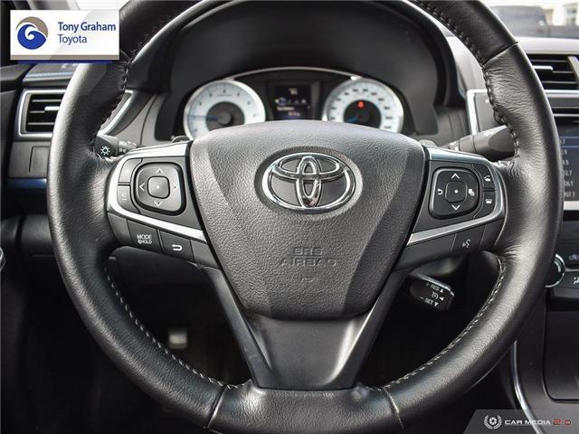 2016 Toyota Camry XSE (Stk: U9102) in Ottawa - Image 14 of 29
