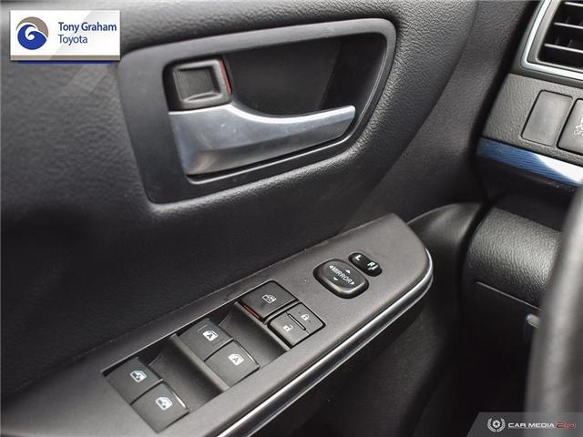 2016 Toyota Camry XSE (Stk: U9102) in Ottawa - Image 16 of 29