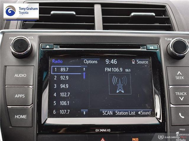2016 Toyota Camry XSE (Stk: U9102) in Ottawa - Image 19 of 29