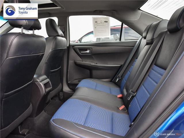 2016 Toyota Camry XSE (Stk: U9102) in Ottawa - Image 25 of 29