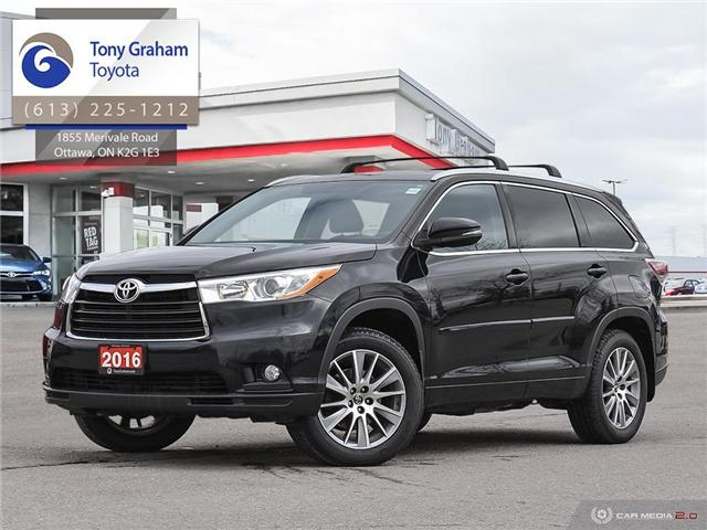 2016 Toyota Highlander XLE (Stk: E7802) in Ottawa - Image 1 of 28