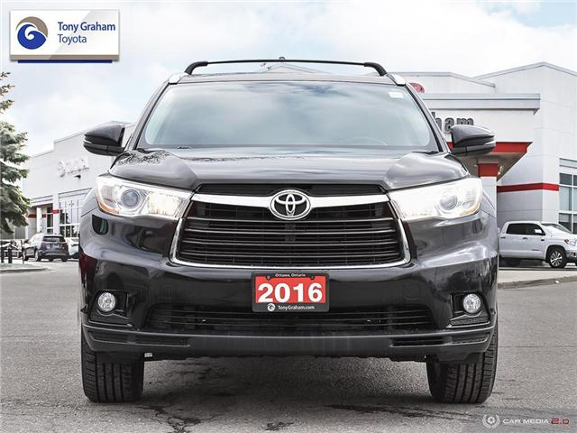 2016 Toyota Highlander XLE (Stk: E7802) in Ottawa - Image 2 of 28
