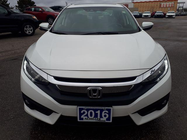 2016 Honda Civic Touring (Stk: H1829A) in Milton - Image 5 of 11