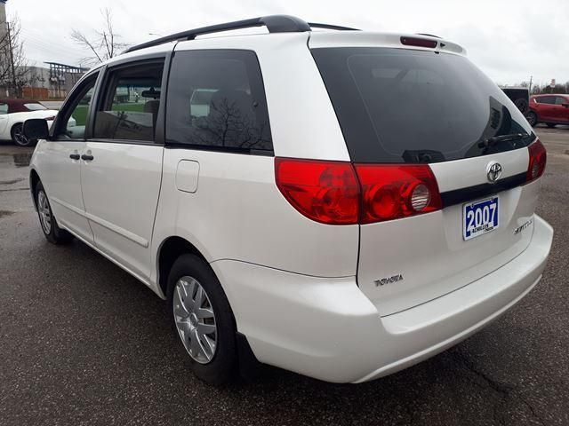 2007 Toyota Sienna CE 7 Passenger (Stk: H1818A) in Milton - Image 3 of 10