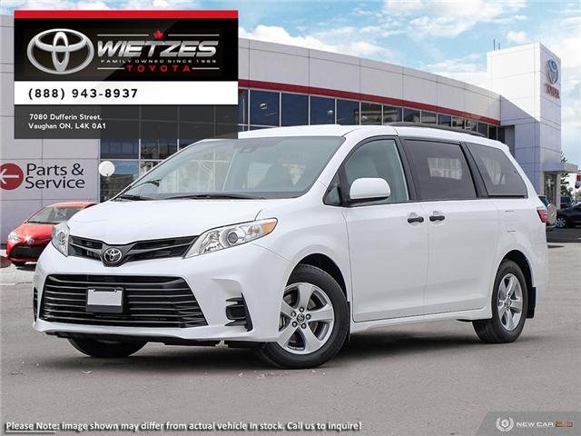 2019 Toyota Sienna Technology Package (Stk: 67763) in Vaughan - Image 1 of 24
