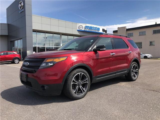 2014 Ford Explorer Sport (Stk: 18T108A) in Kingston - Image 2 of 17