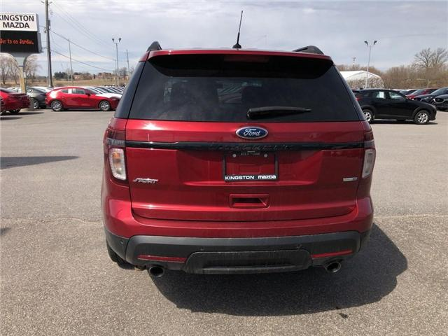 2014 Ford Explorer Sport (Stk: 18T108A) in Kingston - Image 5 of 17