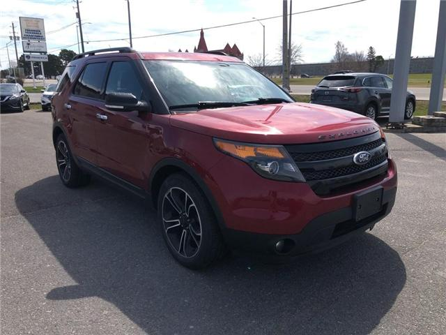 2014 Ford Explorer Sport (Stk: 18T108A) in Kingston - Image 8 of 17