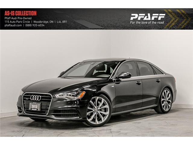 2013 Audi A6 3.0T Premium (Stk: T16695A) in Woodbridge - Image 1 of 22