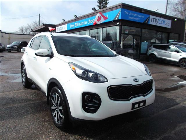2019 Kia Sportage EX (Stk: 190435) in North Bay - Image 1 of 13