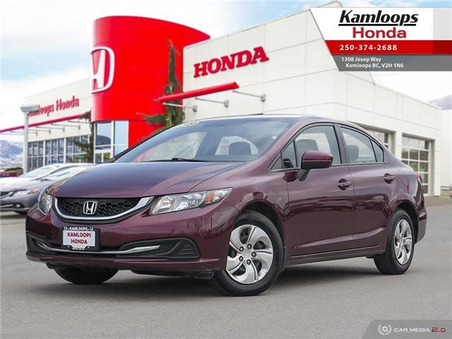 2014 Honda Civic LX (Stk: 14388A) in Kamloops - Image 1 of 25