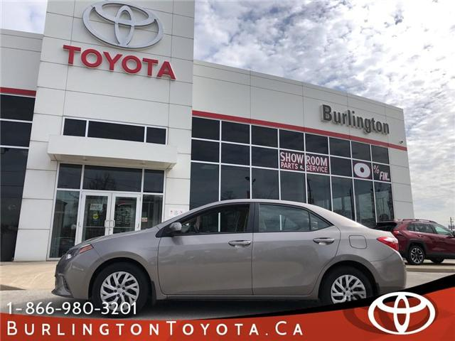 2015 Toyota Corolla LE (Stk: U10636) in Burlington - Image 1 of 18