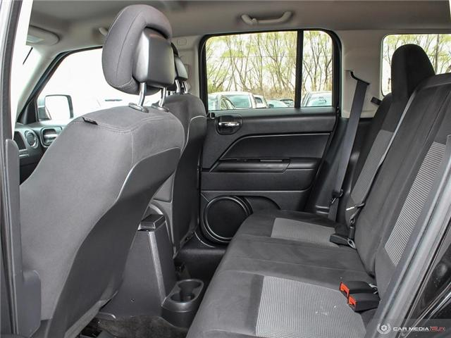 2014 Jeep Patriot Sport/North (Stk: TR0086A) in Windsor - Image 13 of 28