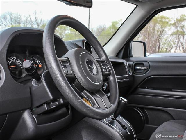 2014 Jeep Patriot Sport/North (Stk: TR0086A) in Windsor - Image 14 of 28