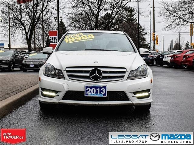 2013 Mercedes-Benz C-Class C300 4MATIC, LEATHER, MOONROOF (Stk: 191355A) in Burlington - Image 2 of 22