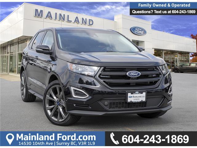 2017 Ford Edge Sport 2FMPK4AP9HBB64798 P64798 in Vancouver