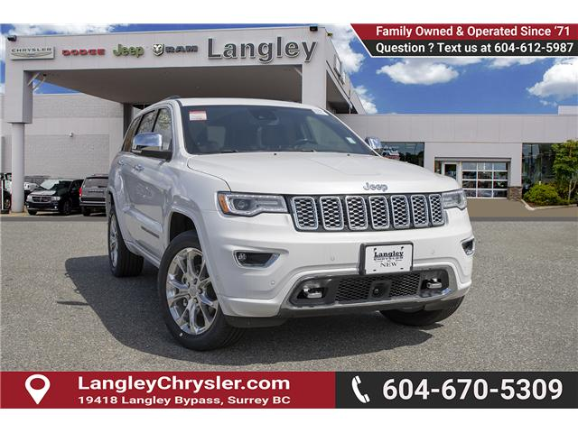 2019 Jeep Grand Cherokee Overland (Stk: K680434) in Surrey - Image 1 of 27