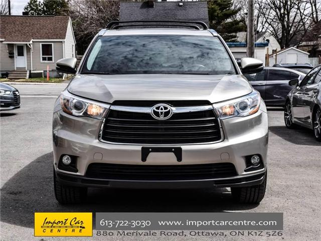 2016 Toyota Highlander Limited (Stk: 240619) in Ottawa - Image 2 of 30