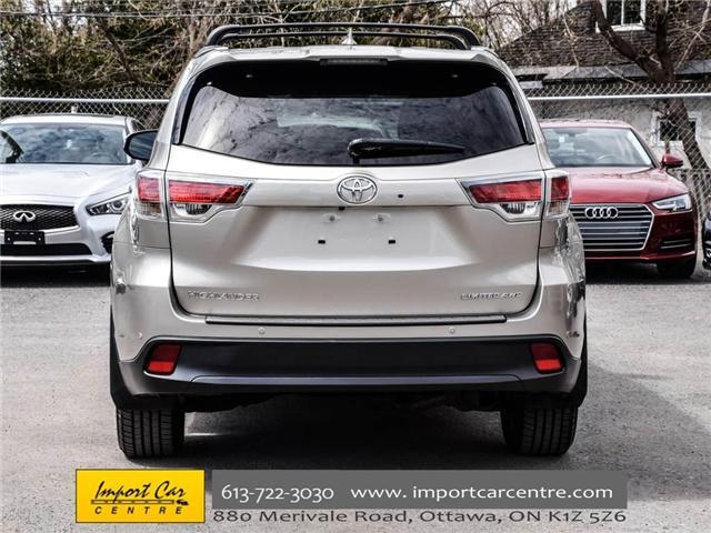 2016 Toyota Highlander Limited (Stk: 240619) in Ottawa - Image 6 of 30