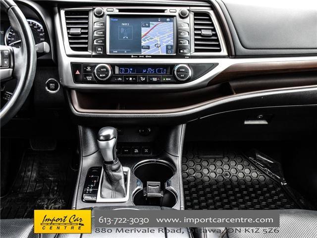2016 Toyota Highlander Limited (Stk: 240619) in Ottawa - Image 23 of 30