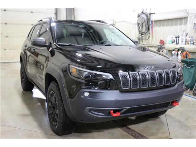 2019 Jeep Cherokee 2ZE Trailhawk (Stk: KT001X) in Rocky Mountain House - Image 3 of 26
