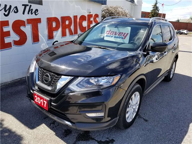 2017 Nissan Rogue SV (Stk: 19-299) in Oshawa - Image 1 of 15