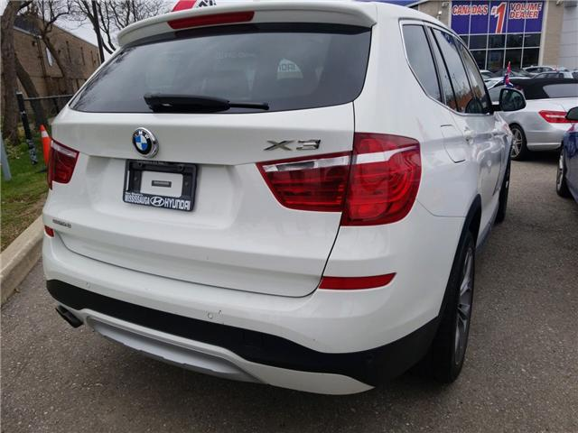 2015 BMW X3 xDrive28i (Stk: OP10291) in Mississauga - Image 4 of 17