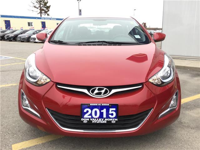 2015 Hyundai Elantra GLS (Stk: 7684H) in Markham - Image 2 of 11