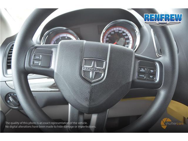 2019 Dodge Grand Caravan CVP/SXT (Stk: K227) in Renfrew - Image 13 of 20