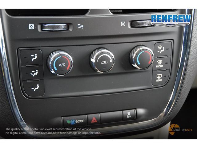 2019 Dodge Grand Caravan CVP/SXT (Stk: K227) in Renfrew - Image 17 of 20