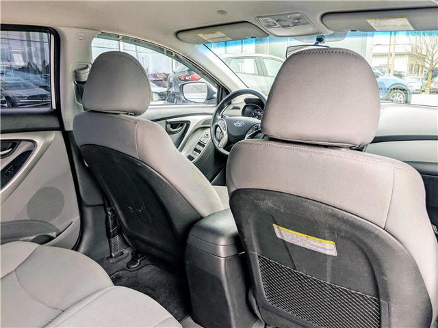 2013 Hyundai Elantra  (Stk: 1554AA) in Peterborough - Image 14 of 22