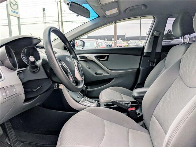 2013 Hyundai Elantra  (Stk: 1554AA) in Peterborough - Image 7 of 22