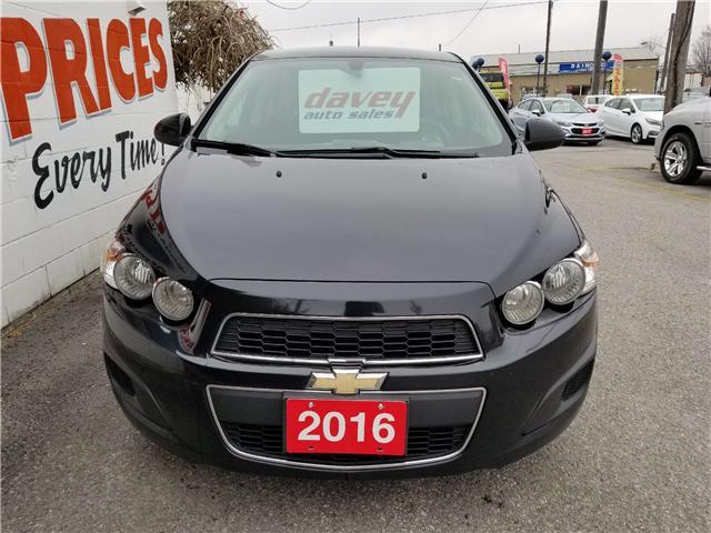 2016 Chevrolet Sonic LT Auto (Stk: 19-279T) in Oshawa - Image 2 of 14
