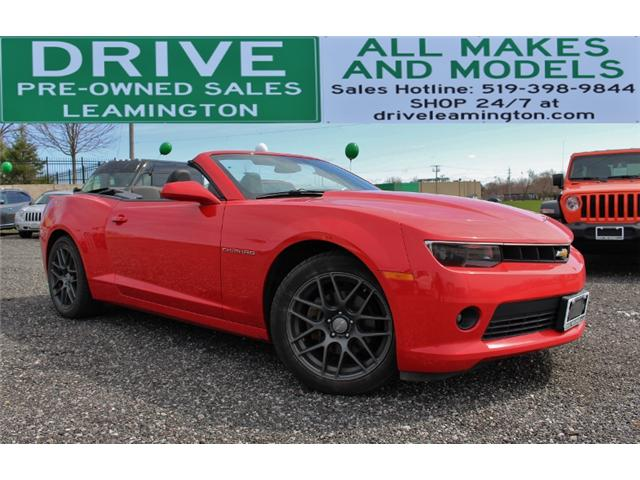 2014 Chevrolet Camaro LT (Stk: D0074) in Leamington - Image 1 of 28
