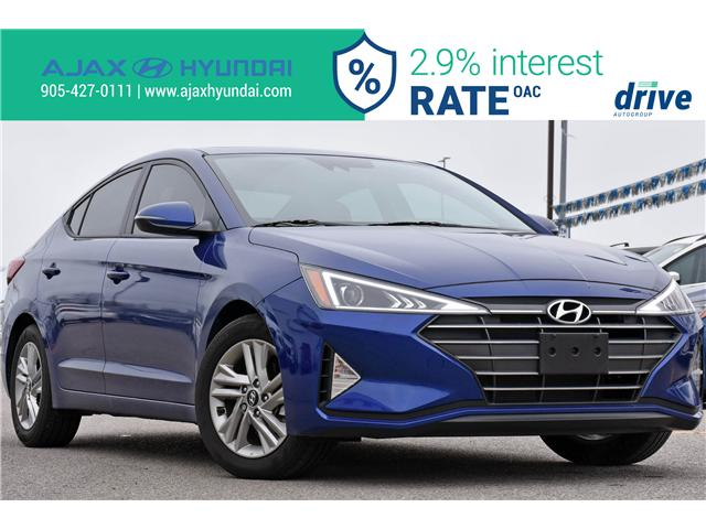 2019 Hyundai Elantra Preferred (Stk: 19462A) in Ajax - Image 1 of 33