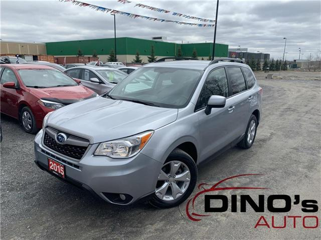 2015 Subaru Forester  (Stk: 418033) in Orleans - Image 1 of 30