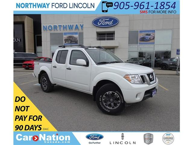 2018 Nissan Frontier PRO-4X | 4x4 | NAV | PWR HTD LEATHER | SUNROOF | (Stk: DR133) in Brantford - Image 1 of 44