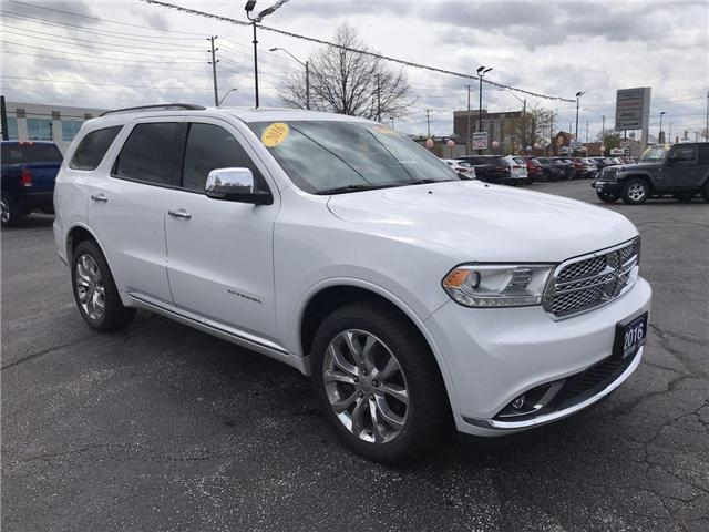 2016 Dodge Durango Citadel (Stk: 44755) in Windsor - Image 1 of 14