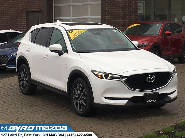 2017 Mazda CX-5 GT (Stk: 28411A) in East York - Image 1 of 30