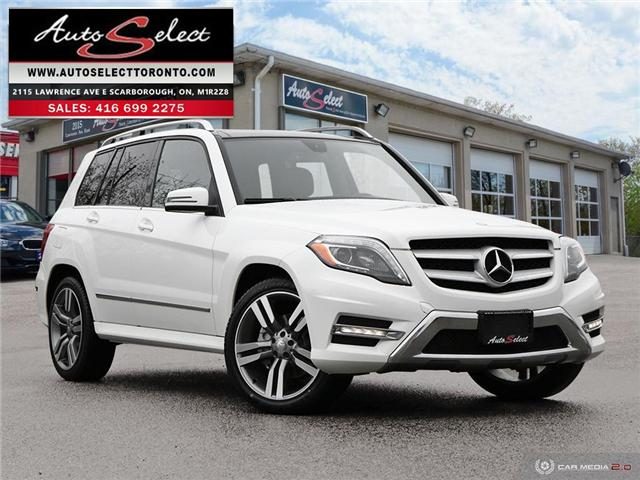 2015 Mercedes-Benz Glk-Class 4Matic (Stk: 1QLKD23) in Scarborough - Image 1 of 29