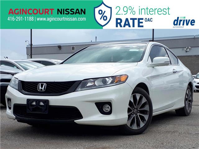 2015 Honda Accord EX-L-NAVI (Stk: U12483) in Scarborough - Image 1 of 24