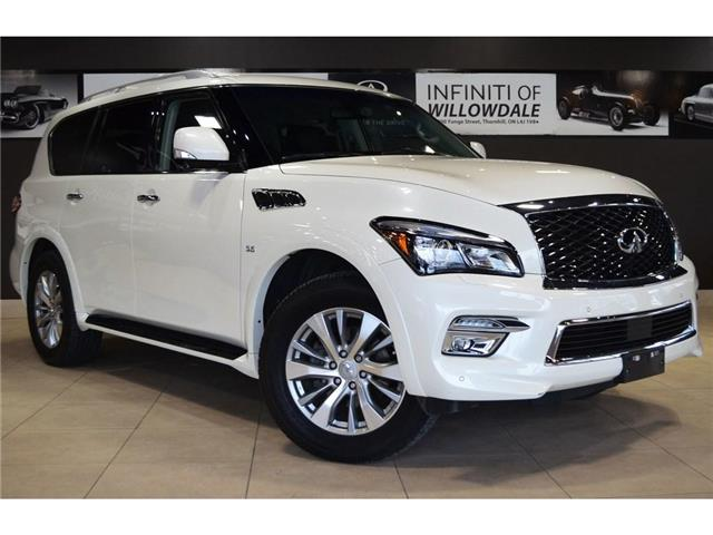 2017 Infiniti QX80  (Stk: AUTOLAND-H8498A) in Thornhill - Image 2 of 30