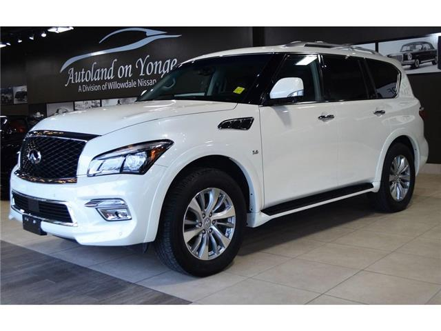 2017 Infiniti QX80  (Stk: AUTOLAND-H8498A) in Thornhill - Image 10 of 30