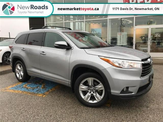 2016 Toyota Highlander Limited (Stk: 342231) in Newmarket - Image 1 of 20