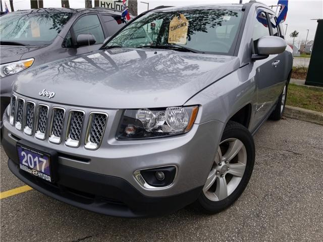 2017 Jeep Compass Sport/North (Stk: OP10281) in Mississauga - Image 1 of 17