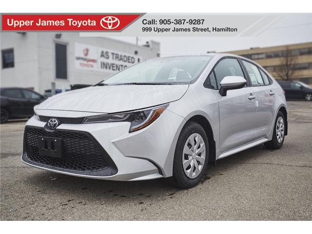 2020 Toyota Corolla L (Stk: 200012) in Hamilton - Image 1 of 16