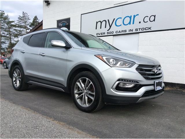 2018 Hyundai Santa Fe Sport 2.0T Limited (Stk: 190415) in Kingston - Image 1 of 21