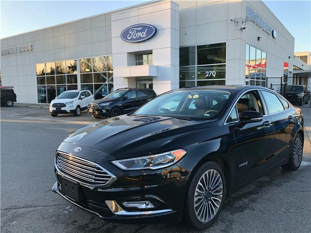 2018 Ford Fusion Hybrid Titanium (Stk: RP19148) in Vancouver - Image 1 of 26