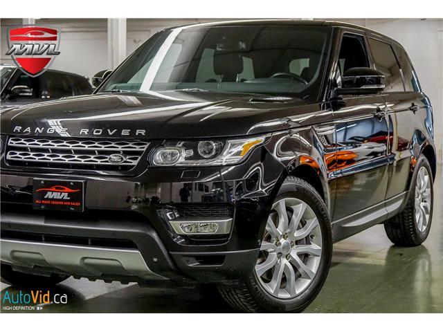 2014 Land Rover Range Rover Sport V8 Supercharged (Stk: ) in Oakville - Image 1 of 32