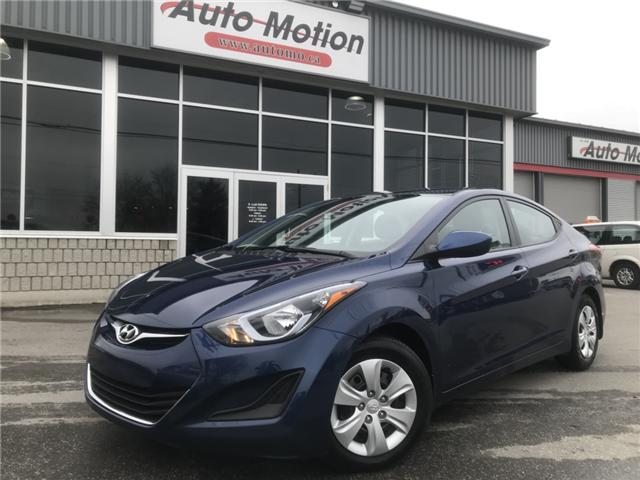 2016 Hyundai Elantra Sport Appearance (Stk: 19460) in Chatham - Image 1 of 18